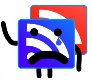 Google Reader says goodbye